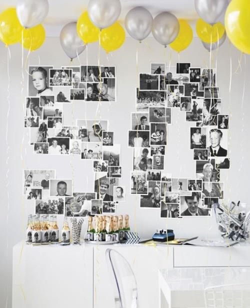 globos y fotos
