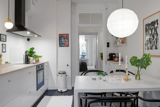cocina bonita para reformar piso