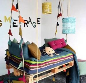 lenceria de cama banderolas textiles color