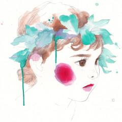 retrato-de-carla-realizado-por-conrad-roset