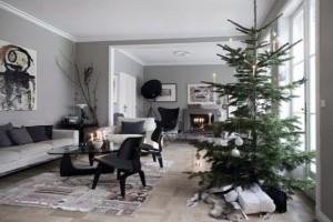 ambiente nordico en navidad