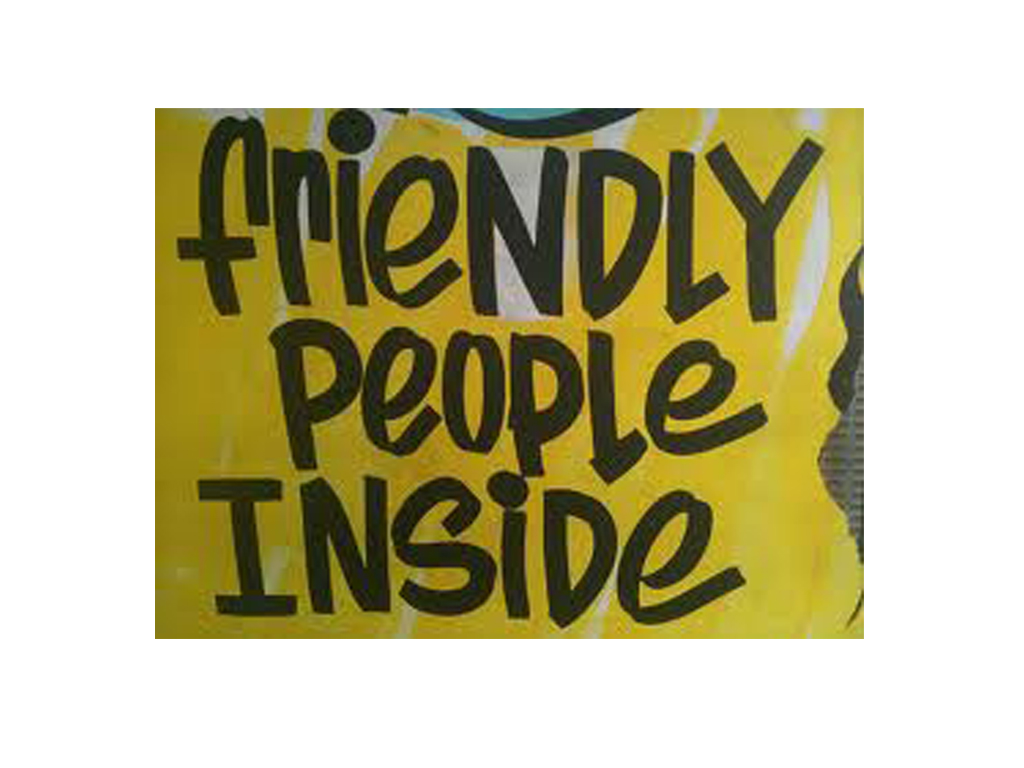 2. friendly people