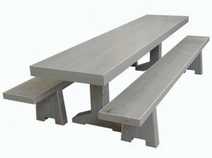 unicolor tafels grijs