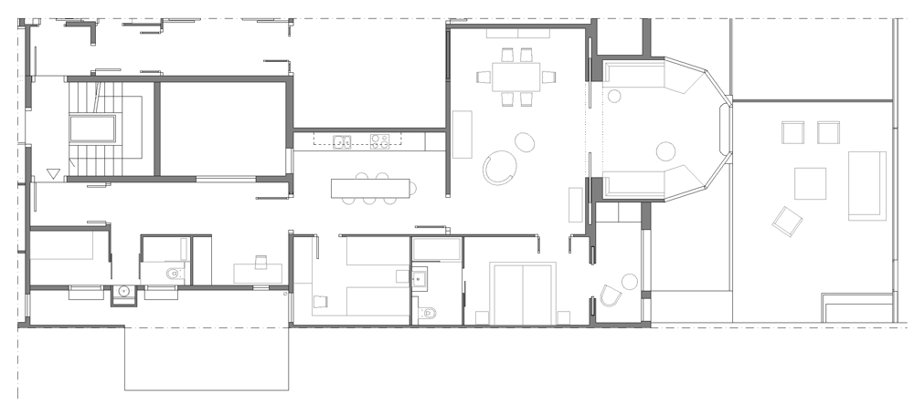 distribución apartamento