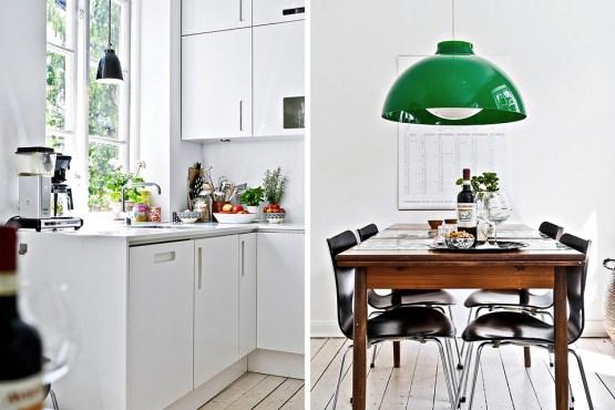 cocina puerta blanca calada