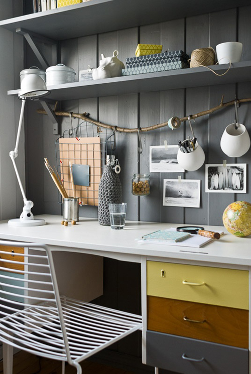 escritorios desks mesas de trabajo work-tables VIA FJELDBORG